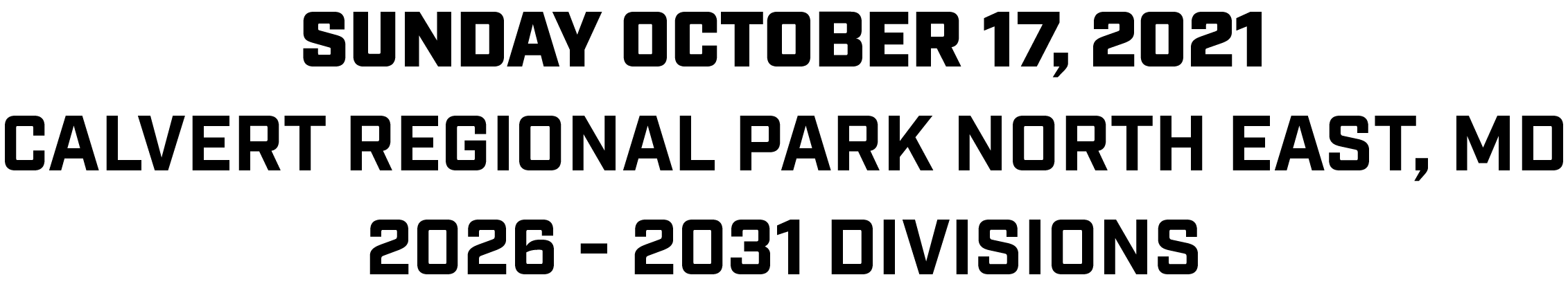 Chesapeake Fall Classic Info