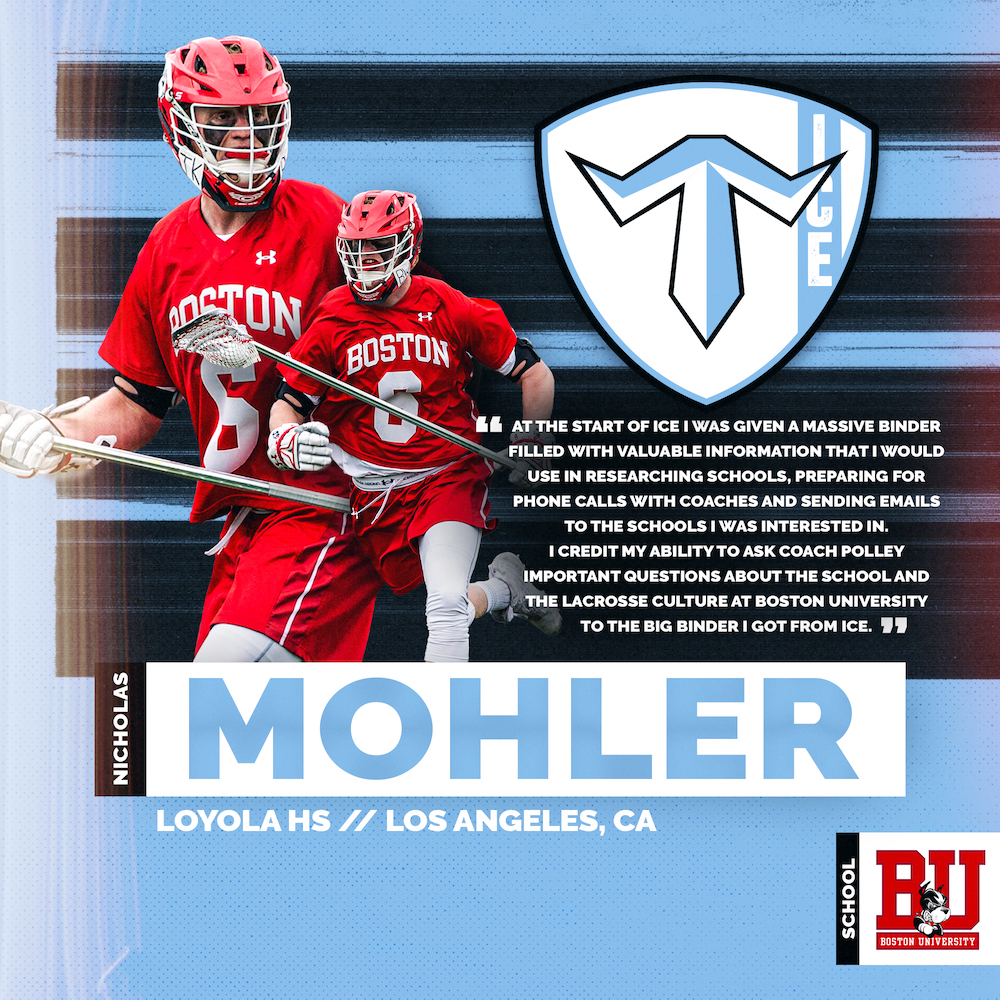 ICE Breakers: Nicholas Mohler