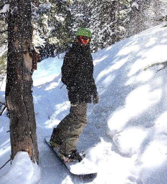 Jeremy Johnson Snowboarding