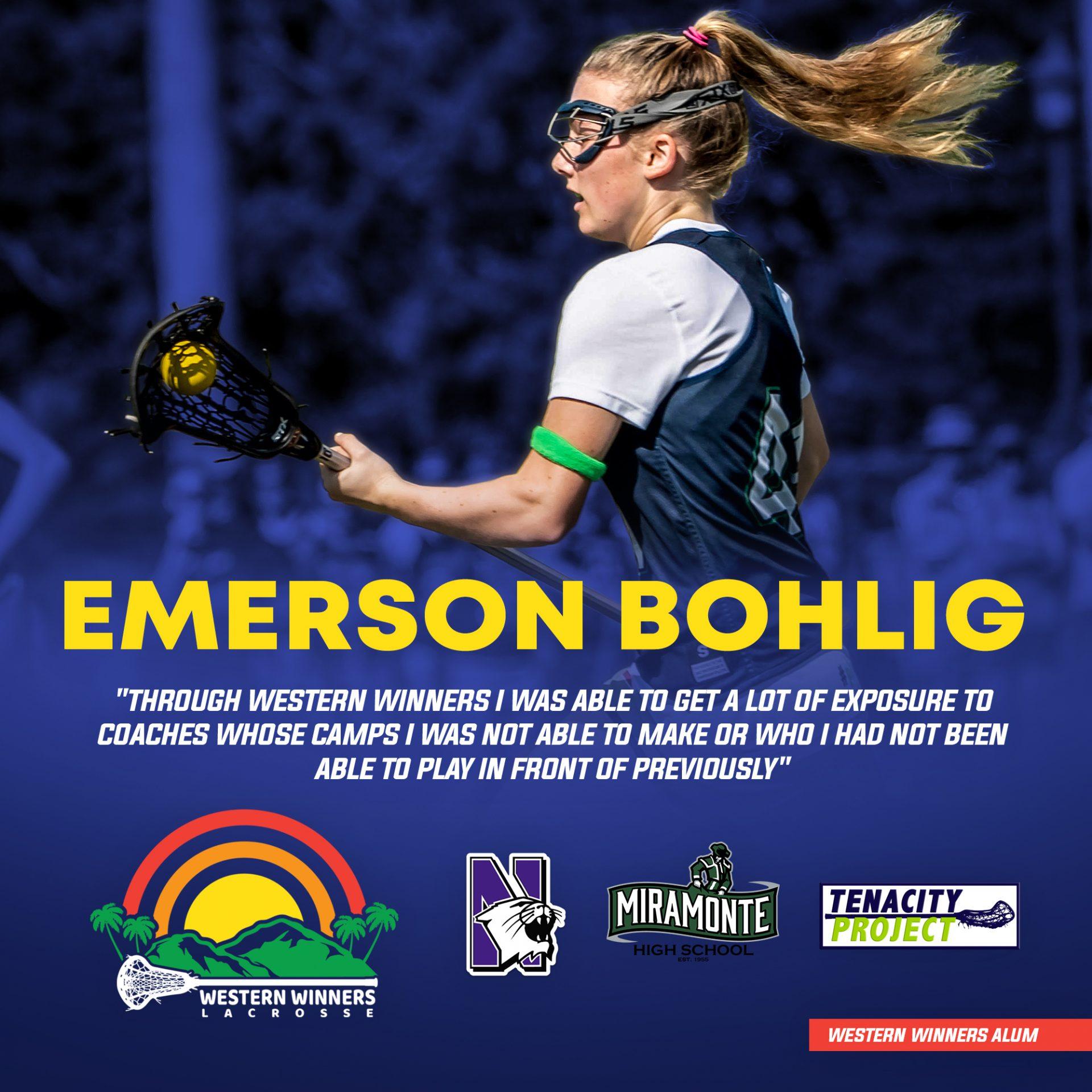 Women of Western Winners: Emerson Bohlig
